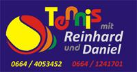 Tennis mit Reihard und Daniel