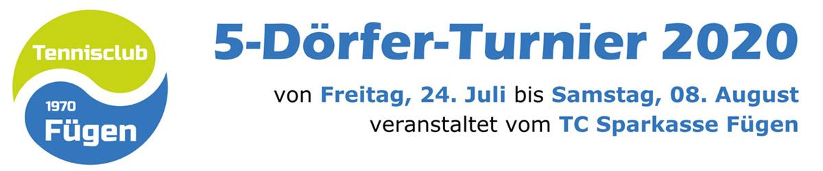 Banner 5-Dörfer-Turnier