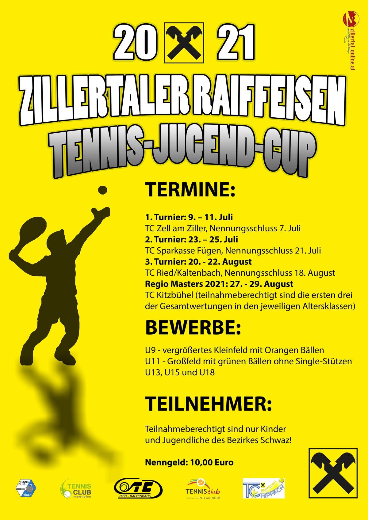 Plakat Raiffeisencup 2021